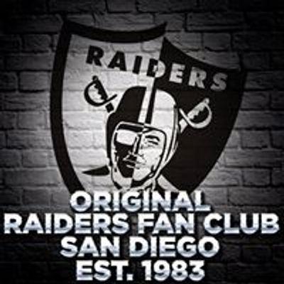 Original Raiders Fan Club San Diego