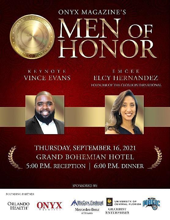 ONYX Magazine's Men of Honor