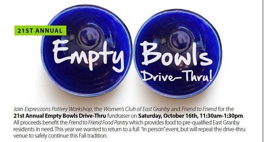 21st Annual Empty Bowls Drive-Thru