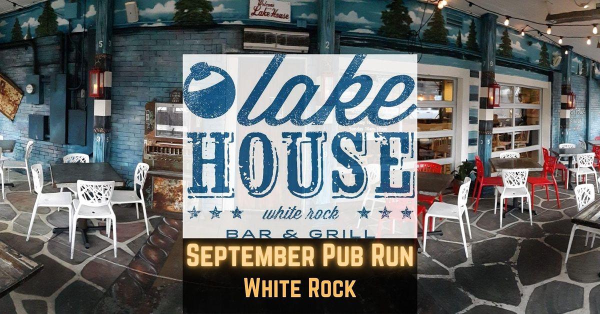 September Pub Run: Lake House