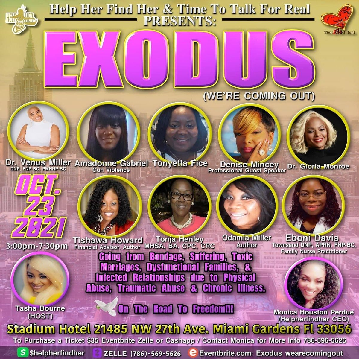Exodus We are Coming Out!!!!!!