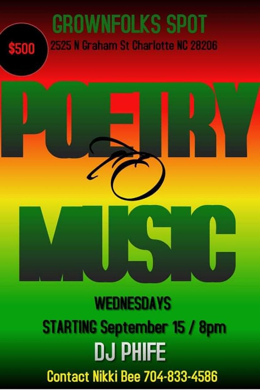 POETRY AND MUSIC NIGHT $500