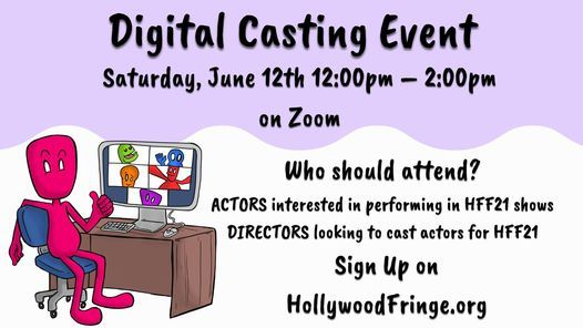 HFF21 Digital Casting Event