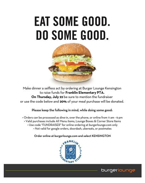 Burger Lounge Dine & Donate