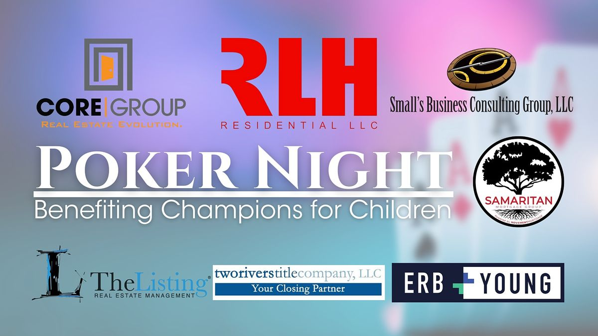 Poker Night Benefiting Champions for Children