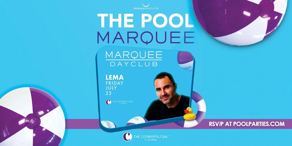 Marquee Dayclub Las Vegas Friday   DJ Lema