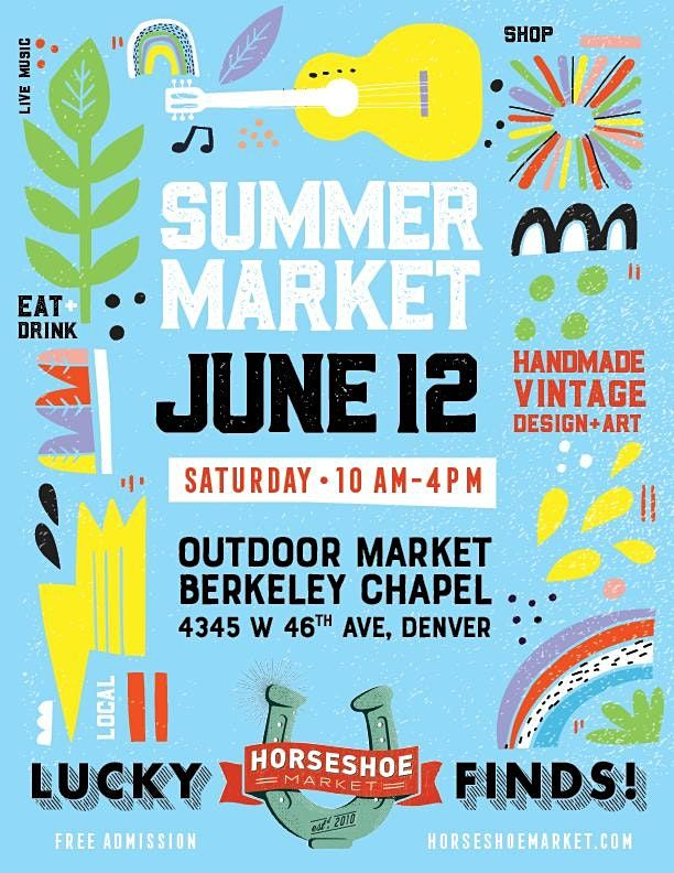 June 12th Horseshoe Market!