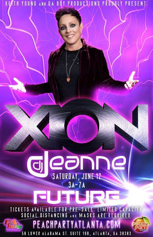 Peach Party 10 Friday XION w\/ Deanne