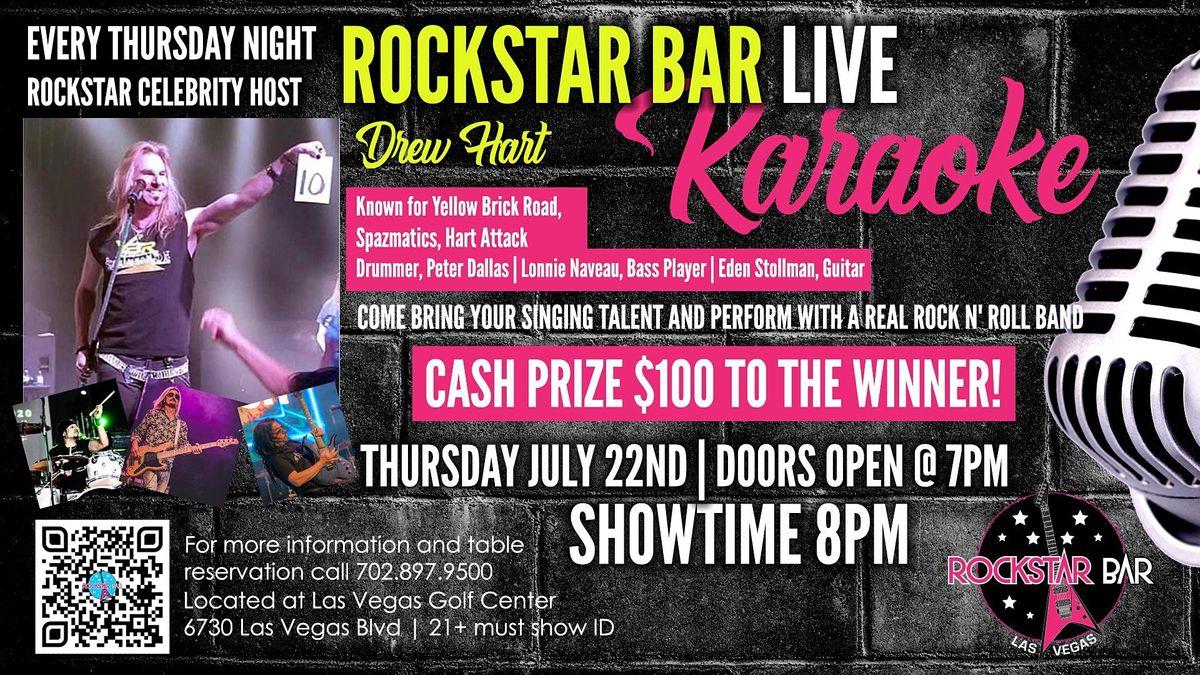 ROCKSTAR BAR LIVE! KARAOKE  AT THE ALL - NEW ROCKSTAR BAR, LAS VEGAS