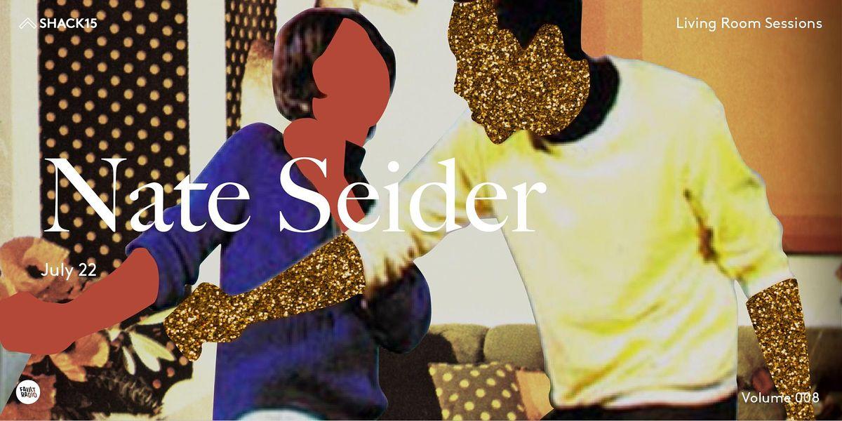 Living Room Sessions: Nate Seider