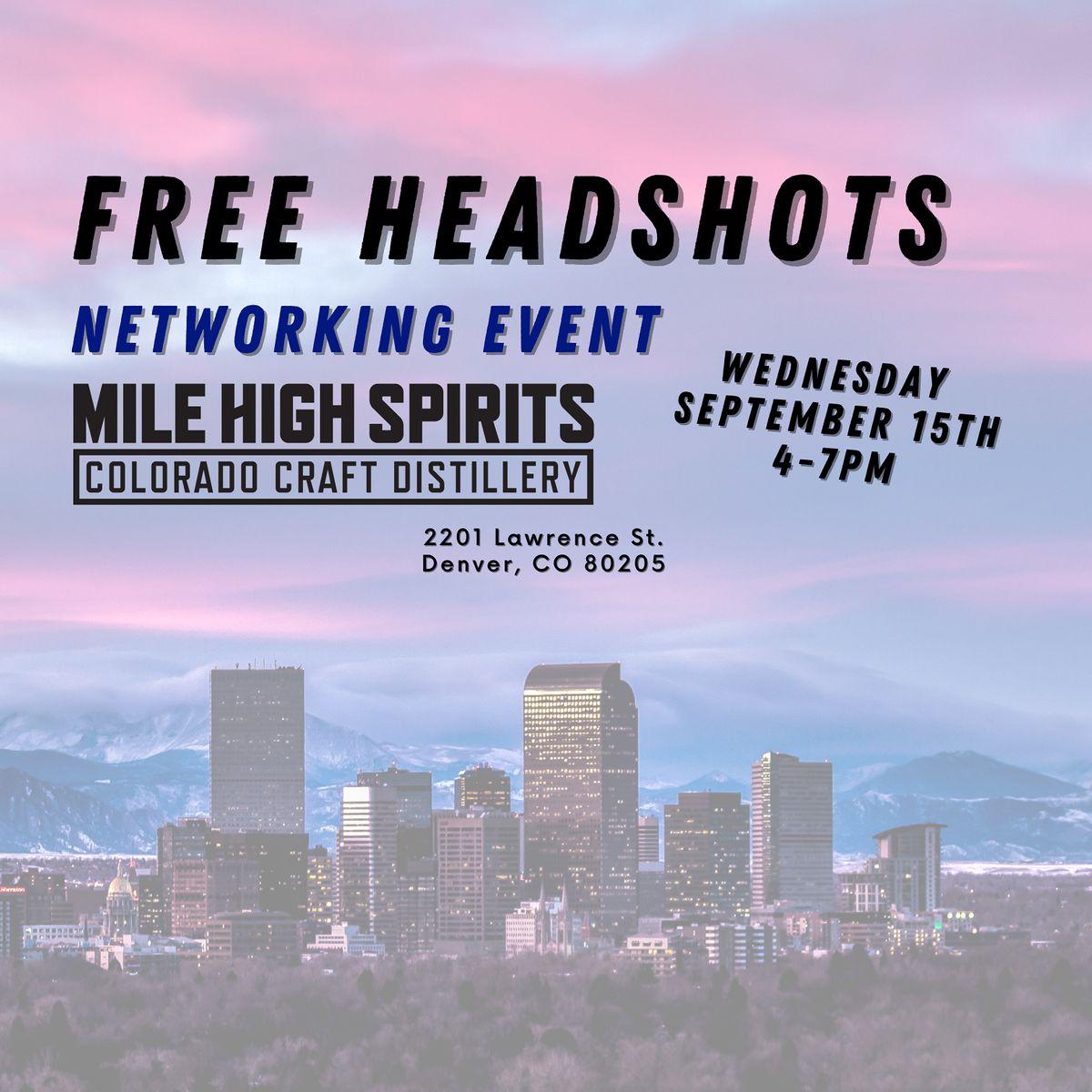FREE Headshots - Networking Event