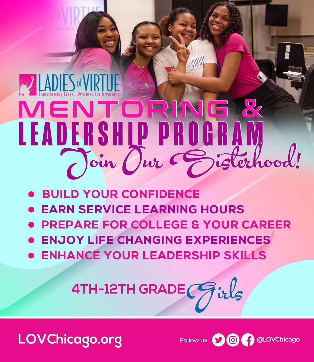 Learn about  Ladies of Virtue (LOV)