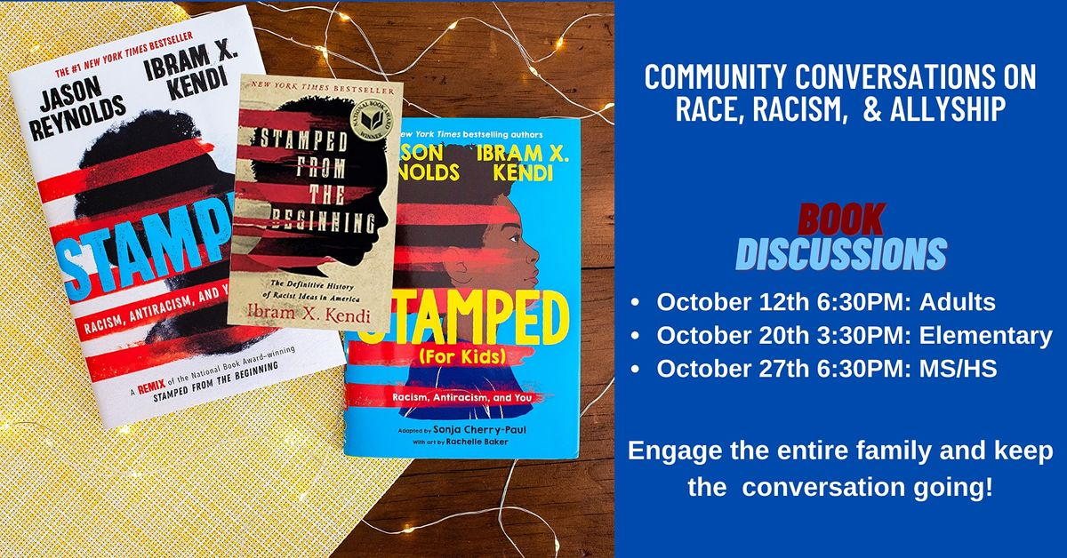 Book Discussion: Stamped from the Beginning