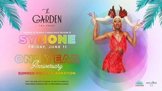 SYMONE - One Year Anniversary Party and Summer Pride Celebration