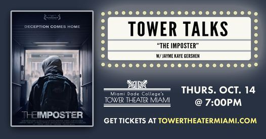 Tower Talks: The Imposter