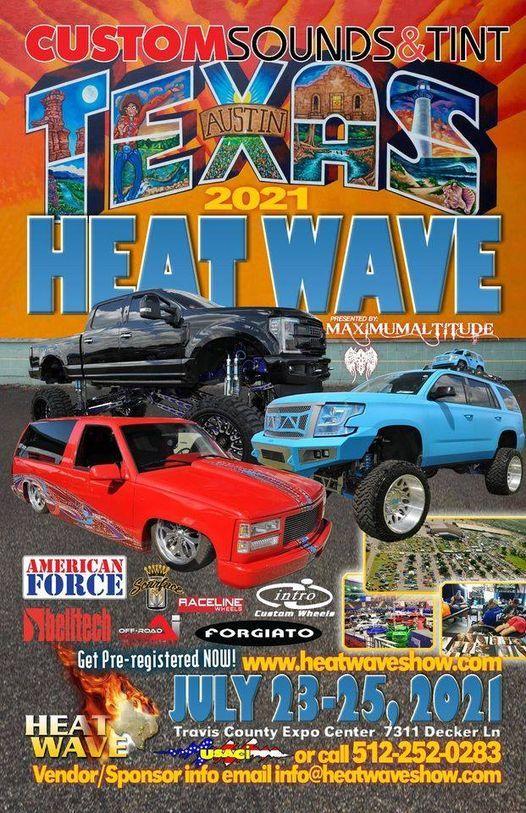 2021 Custom Sounds & Tint Texas Heat Wave