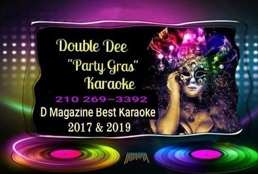 Double Dee Party Gras Karaoke at DOUBLE WIDE!