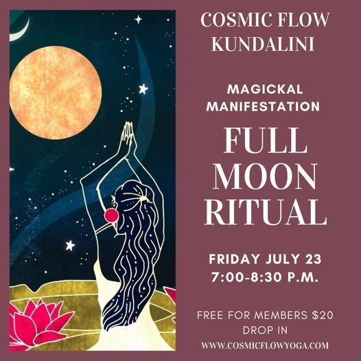 Full Moon Ritual-Magickal Manifestation