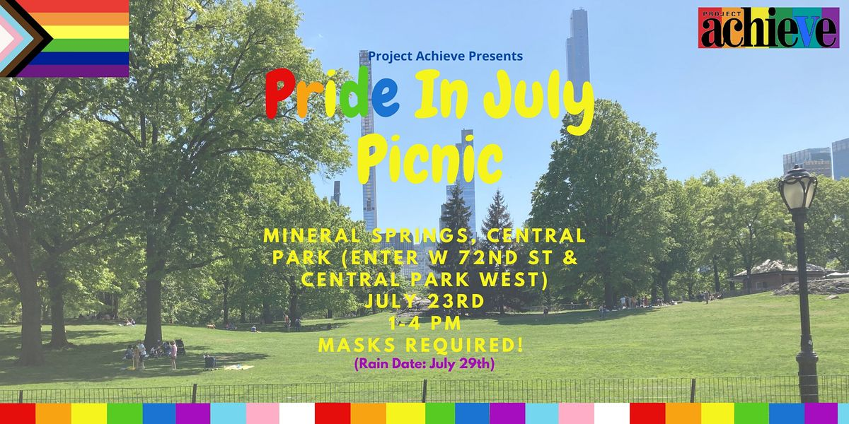 Project Achieve  Pride in July Picnic