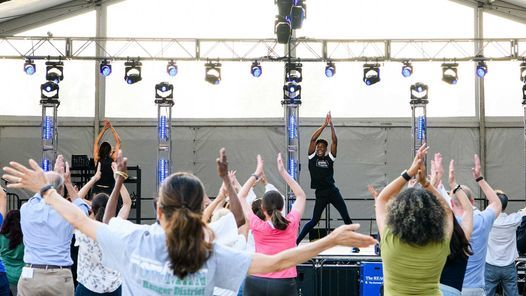 National Dance Day (FREE outdoor dance festival)