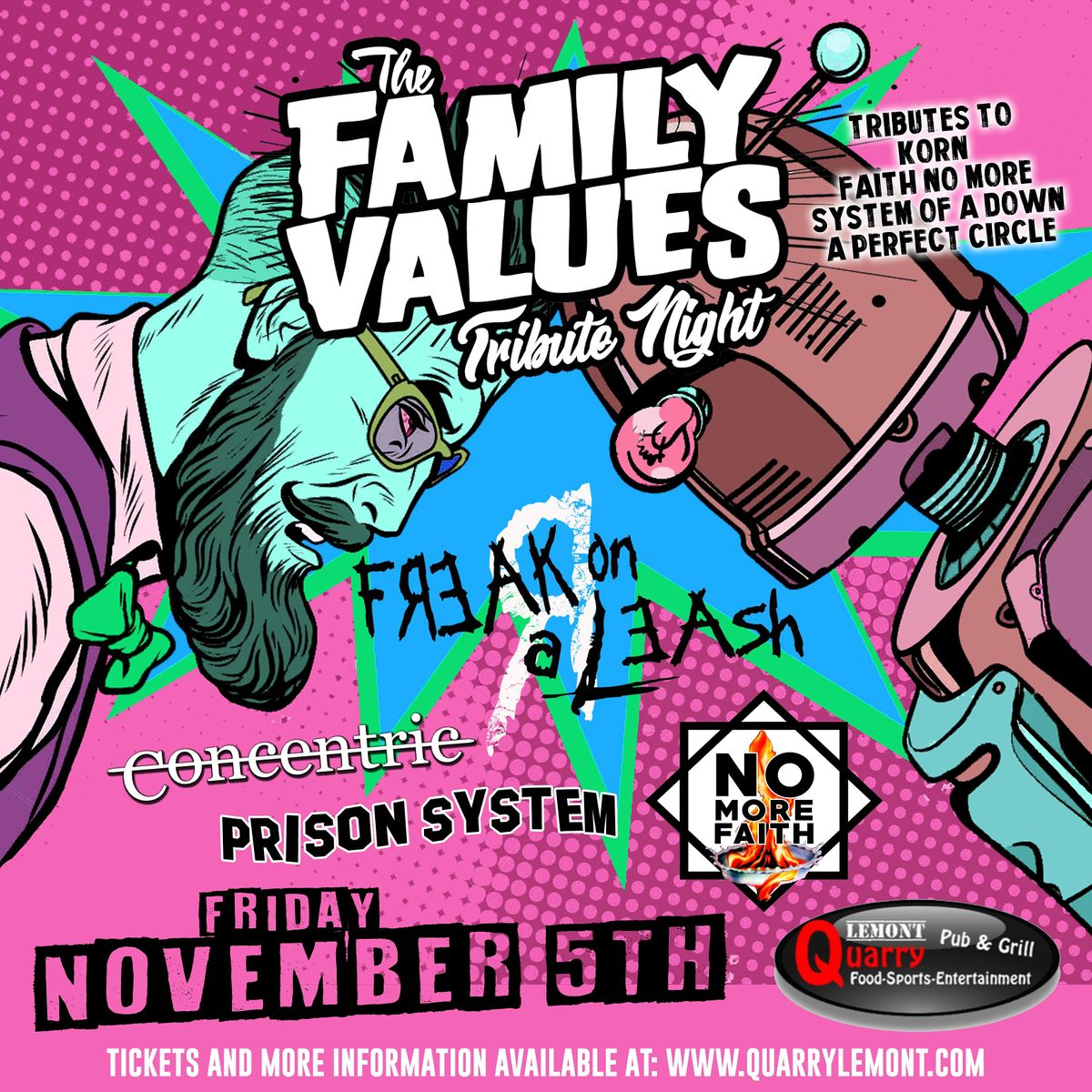 FAMILY VALUES - LIVE AT THE QUARRY PUB & GRILL