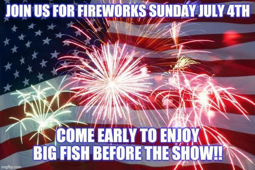 4th of July Fireworks Show and Live Music
