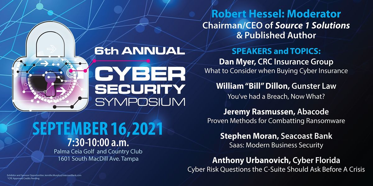 6th Annual Cyber Security Symposium