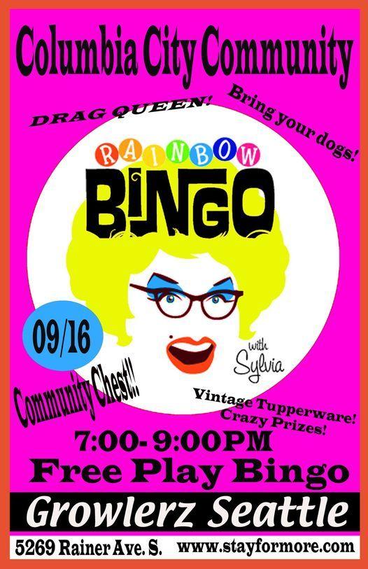 Columbia City Drag Bingo @ Growlerz