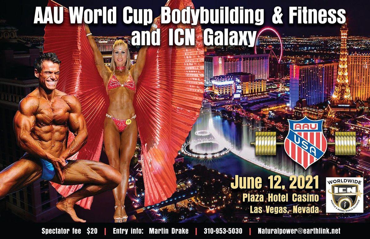 AAU World Cup, AAU National Deadlift & ICN Glaxy