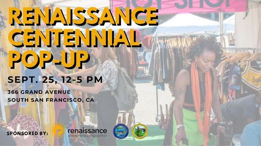 Renaissance Centennial Pop-up!