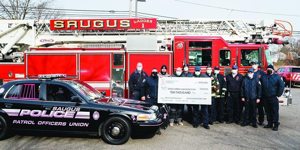 Saugus Badges for a Cure 2021