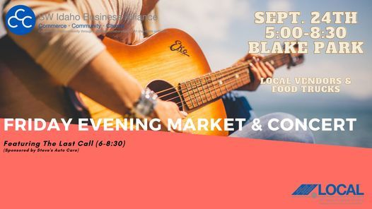 Friday Concert & Market featuring The Last Call