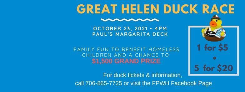 The Great Helen Duck Race