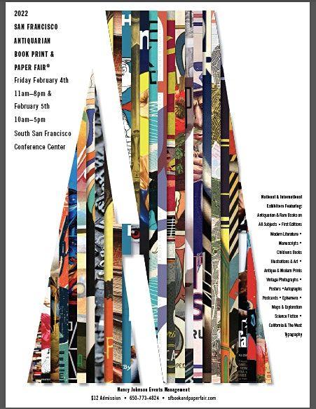 2022 San Francisco Antiquarian Book Print & Paper Fair\u00ae