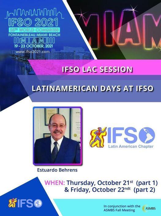 IFSO LAC SESSION 2021 \/ 25TH WORLD CONGRESS