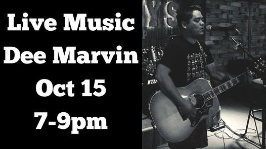 Live Music-Dee Marvin