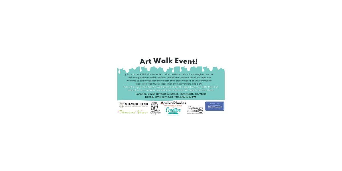 FREE Kids Art Walk Event