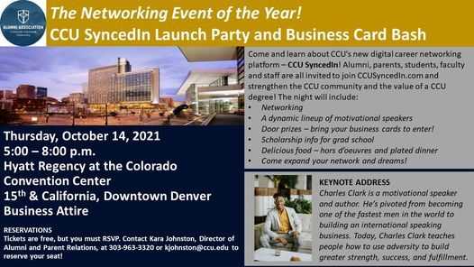 The Networking Event of the Year! CCU SyncedIn Launch Party