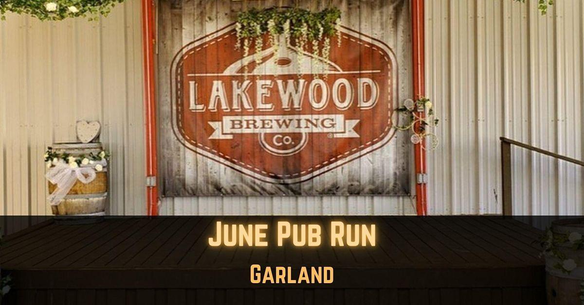 July Pub Run: Ferris Wheelers