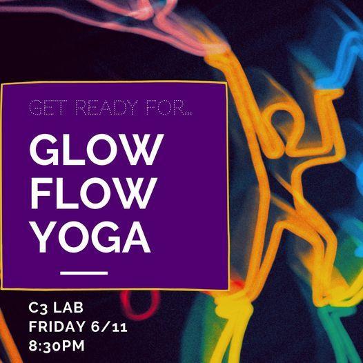DropSound Glow Yoga at Alchemy-C3 Lab