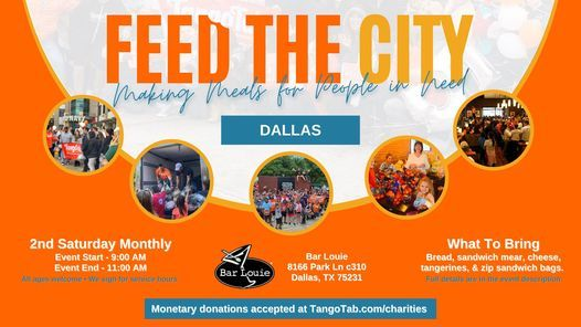 Feed The City: Dallas - Making Meals For People In Need
