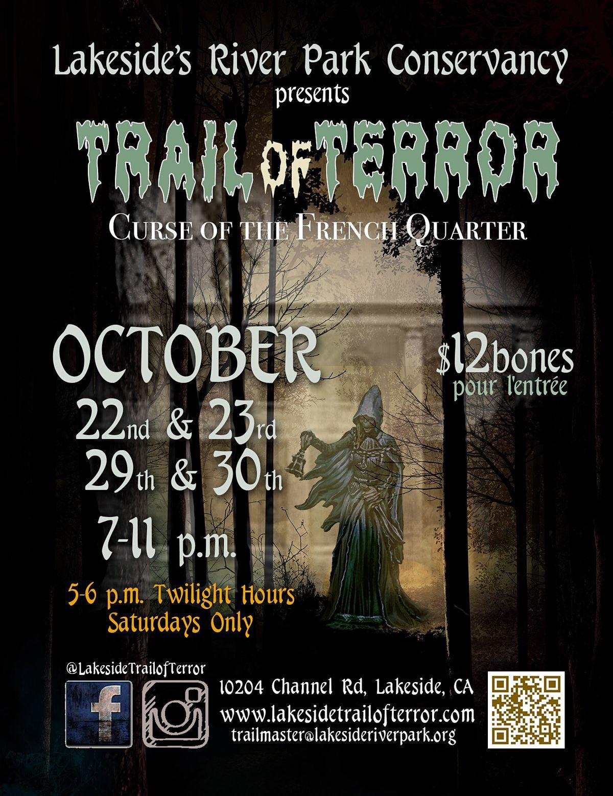 LRPC Lakeside Trail of Terror