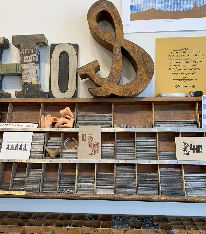 Letterpress Workshop  June 12!