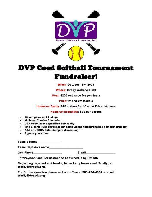 Coed Softball Tournament\/ Homerun Derby