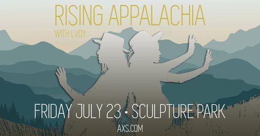Rising Appalachia at Sculpture Park