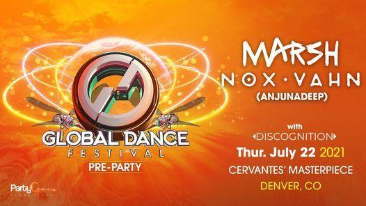 Marsh & Nox Vahn - Official Global Dance Festival Pre-Party