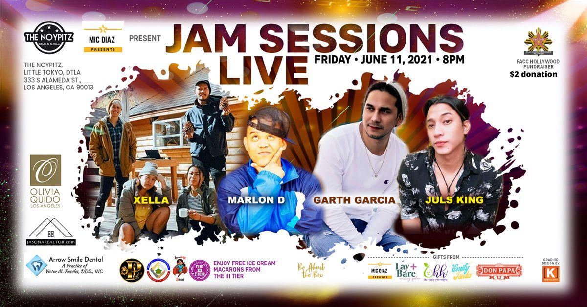 Jam Sessions Live & Fundraiser
