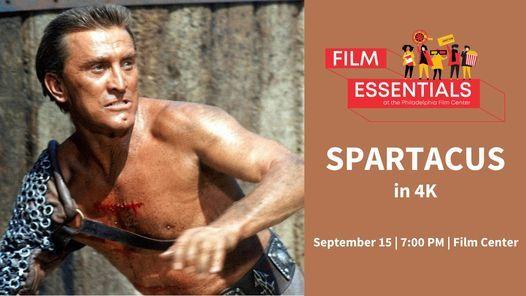 Film Essentials: SPARTACUS in 4K!