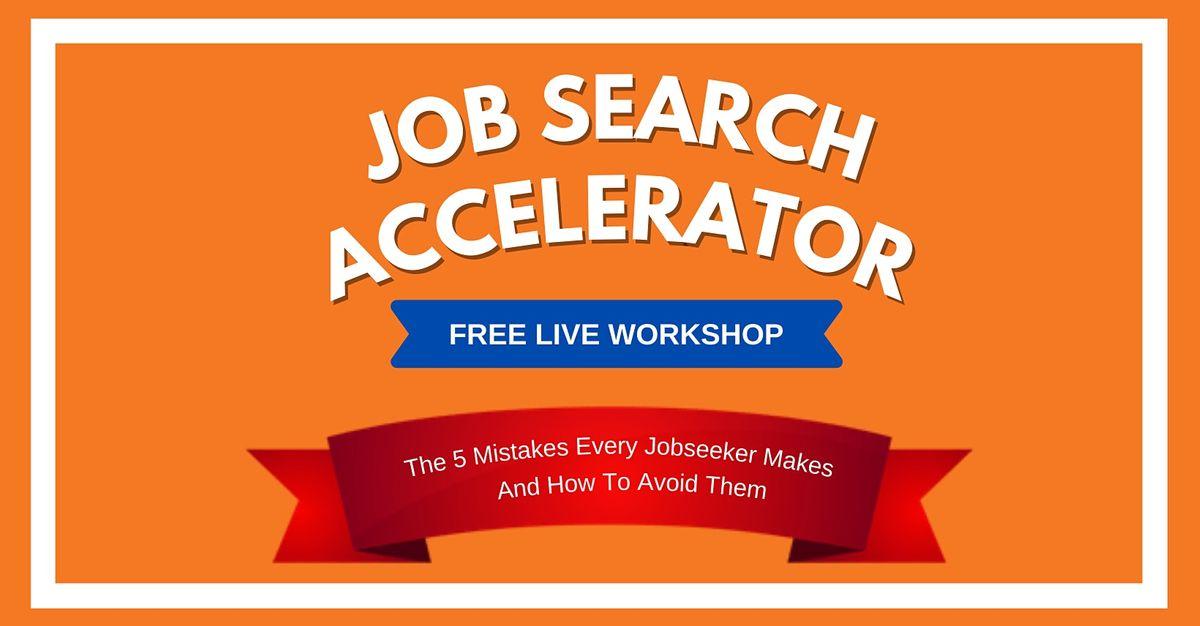 The Job Search Accelerator Workshop \u2014 Seattle