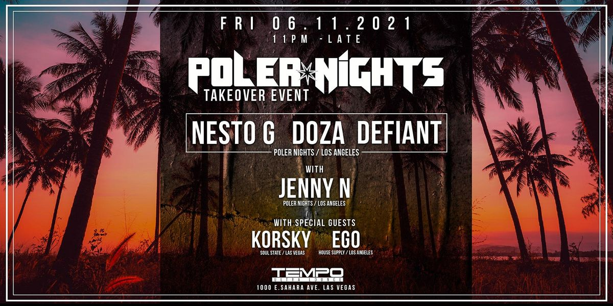 Poler Nights Takeover Tempo Afterhours